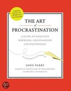 John Perry - Procrastination - cover